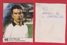 West Germany Hansi Muller Stuttgart